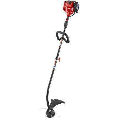 2-Cycle 25.4cc Attachment Capable Curved Shaft Gas String Trimmer
