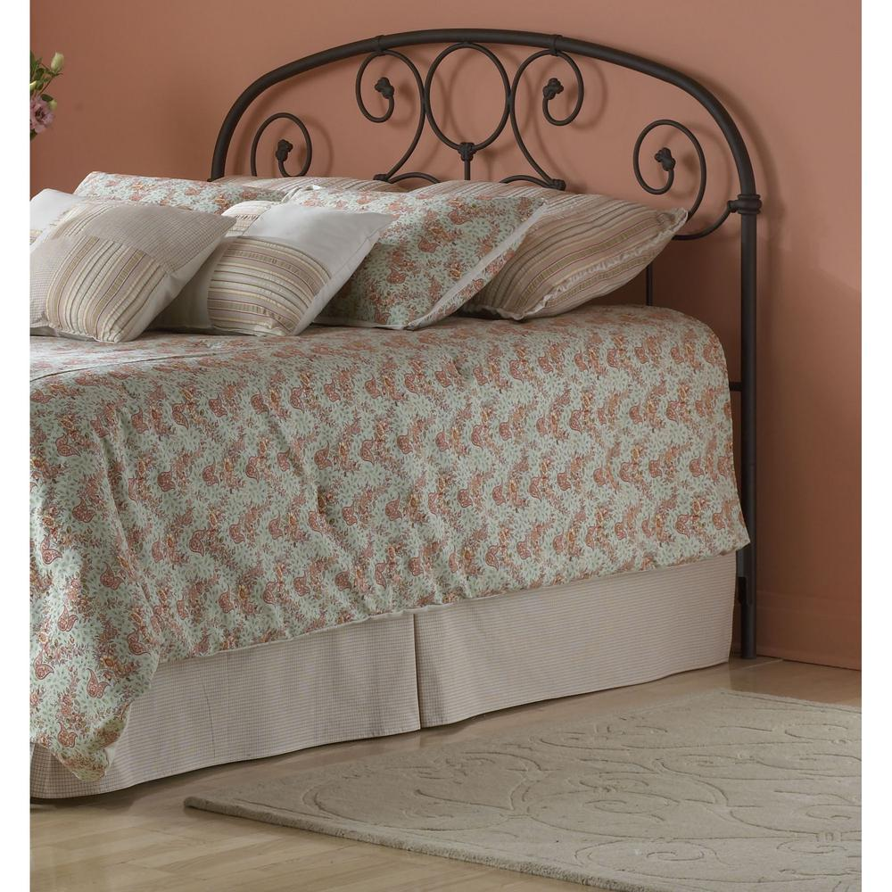 Fashion bed group grafton twin size metal headboard with Decorative headboards for beds