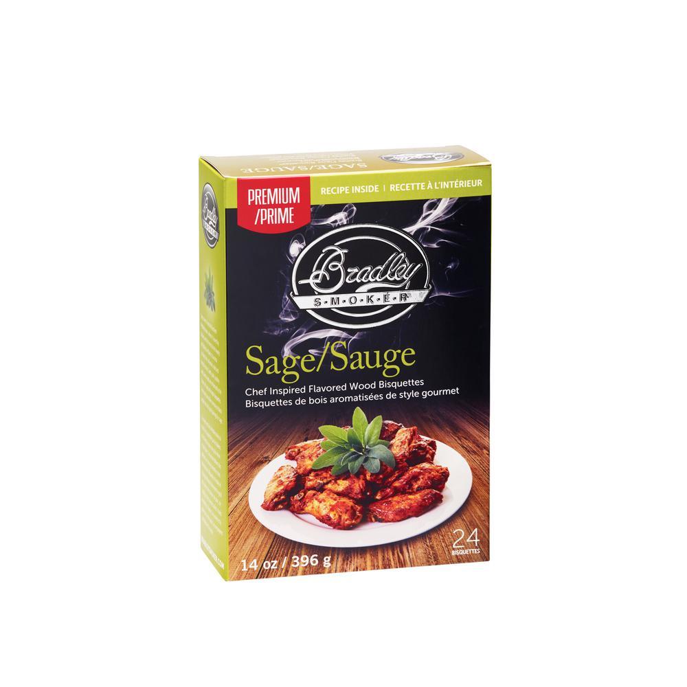 Premium Sage and Maple Bisquettes (Box of 24)