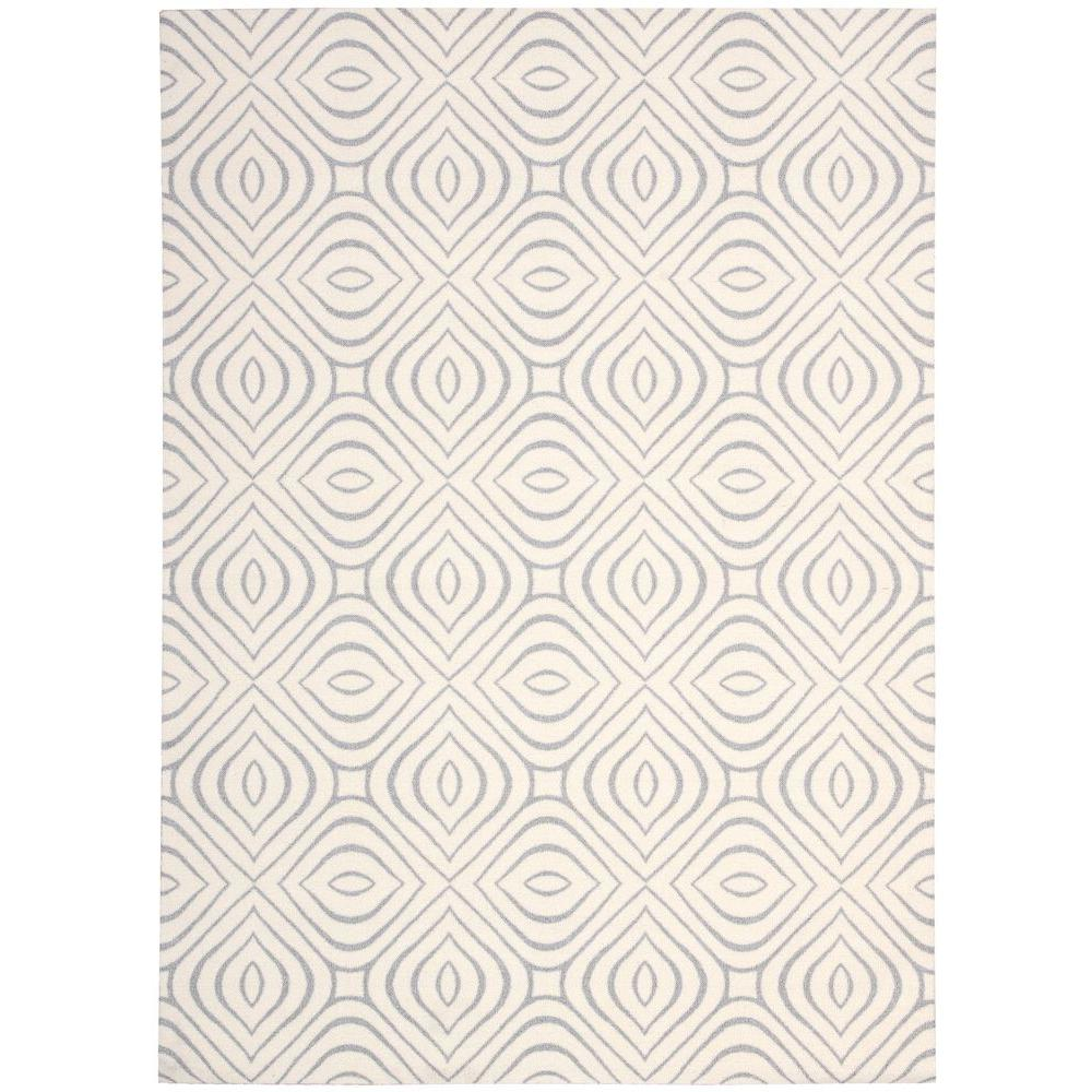 Enhance Ivory/Grey 2 ft. 6 in. x 4 ft. Accent Rug