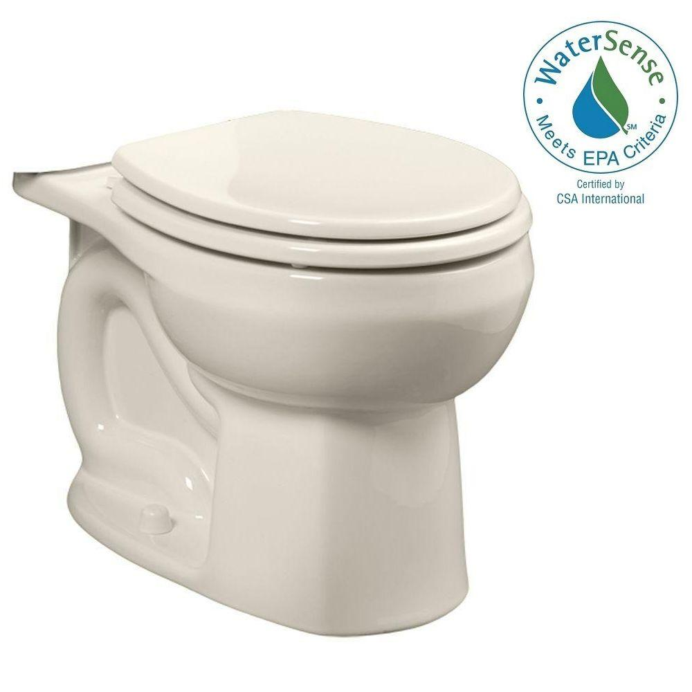 Colony Universal 1.28 GPF or 1.6 GPF Round Toilet Bowl Only