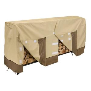 Classic Accessories Veranda 8 ft. Firewood Rack Cover by