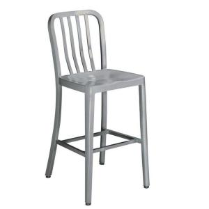 Internet #206803057. Home Decorators Collection Sandra 24 in. Brushed Aluminum Bar Stool  sc 1 st  The Home Depot & Home Decorators Collection Sandra 24 in. Brushed Aluminum Bar ... islam-shia.org