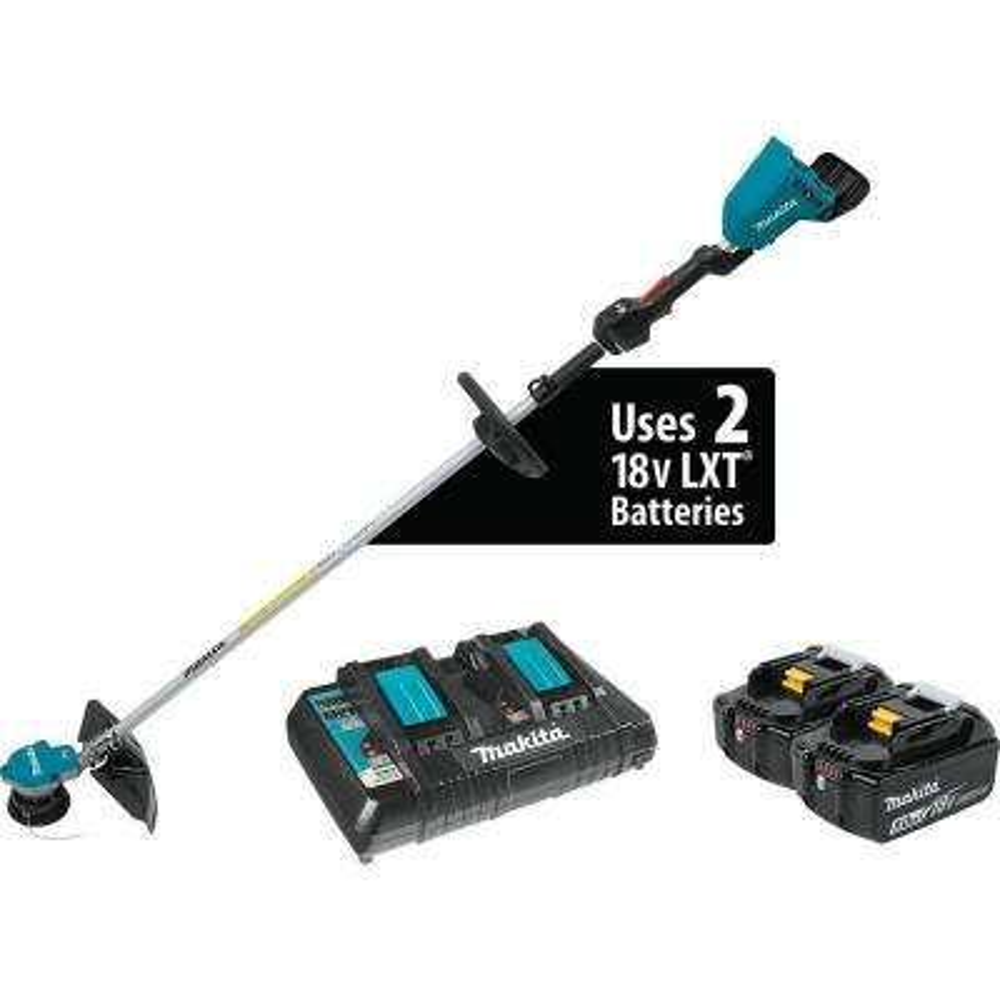 18-Volt X2 LXT Lithium-Ion (36-Volt) Brushless Cordless String Trimmer Kit (5.0Ah)