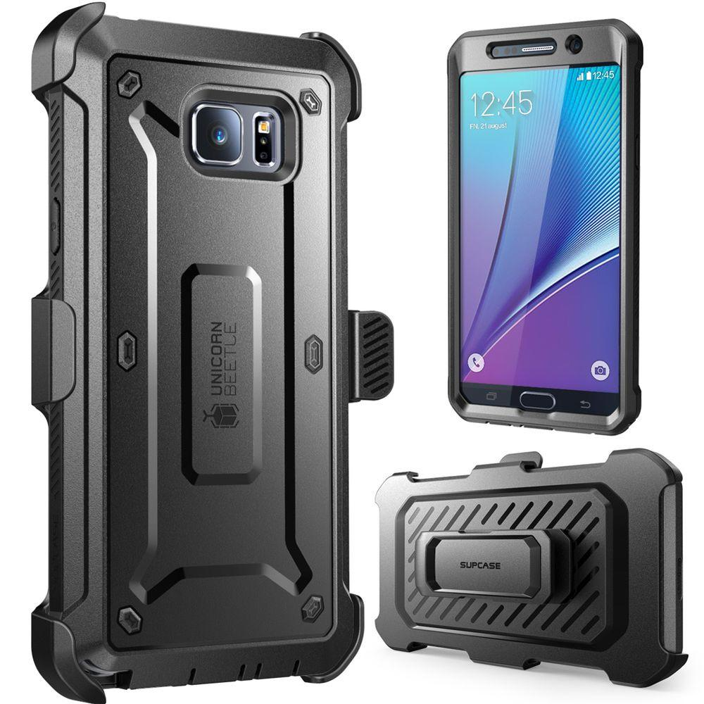 SUPCASE Galaxy Note 5 Unicorn Beetle Pro Case with Screen Protector,