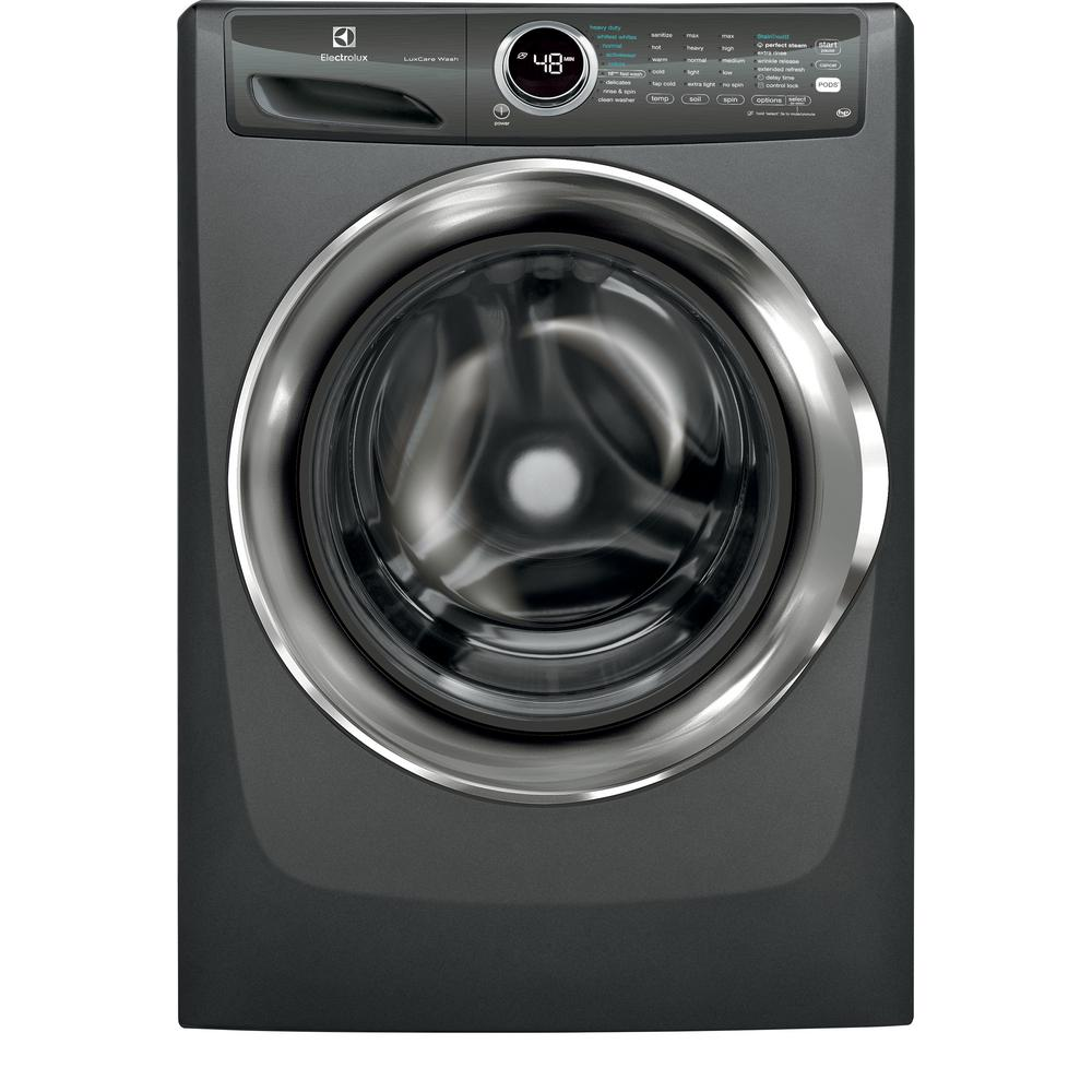 Electrolux 4.3 cu. ft. Front Load Washer with LuxCare Wash System, Steam in Titanium, ENERGY STAR
