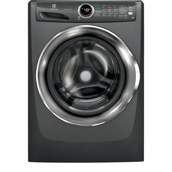 4.3 cu. ft. Front Load Washer with LuxCare Wash System, Steam in Titanium, ENERGY STAR