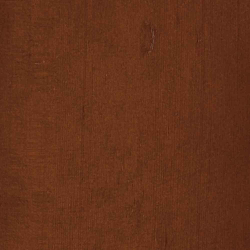 4 in. x 3 in. Wood Garage Door Sample in Light Cedar with Butternut 072 Stain