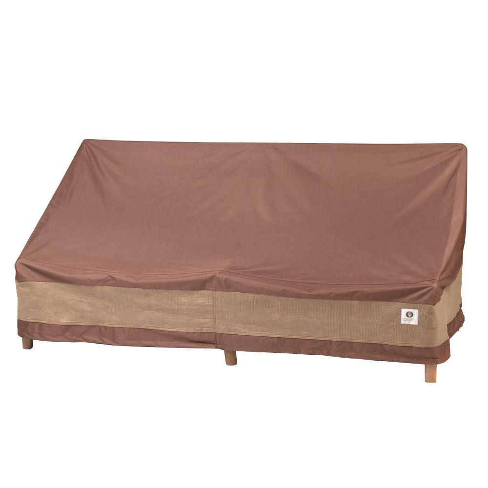 Duck Covers Ultimate 70 In W Patio Loveseat Cover Ulv704135 The Home Depot
