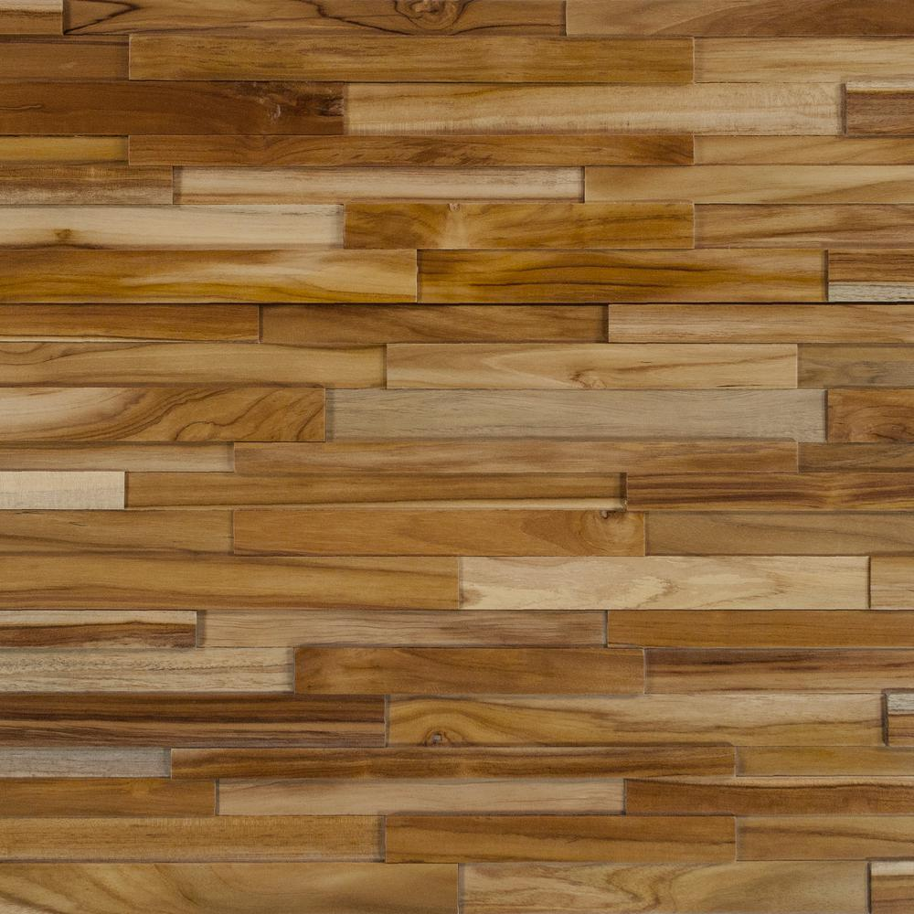 Inject Warmth Into Your Home With Reclaimed Wood Wall: Deco Strips Cider Engineered