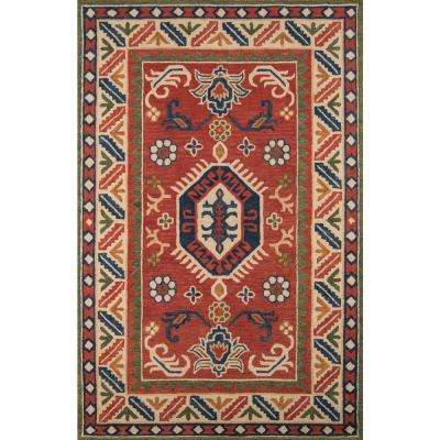 Tangier Ivory 3 ft. 6 in. x 5 ft. 6 in. Indoor Area Rug