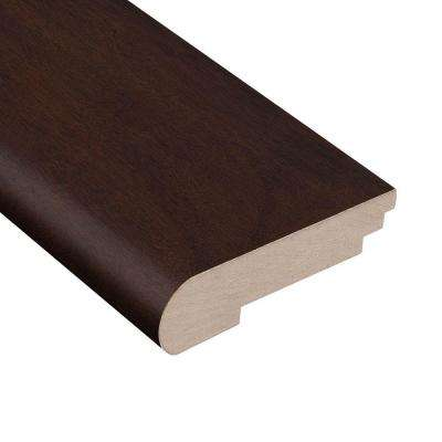Cocoa Acacia 3/4 in. Thick x 3-1/2 in. Wide x 78 in. Length Hardwood Stair Nose Molding