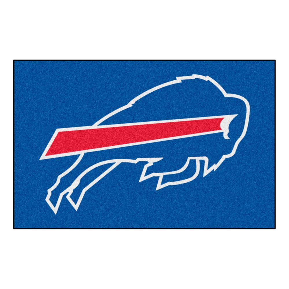 NFL 8 ft.x 5 ft. Buffalo Bills Rug