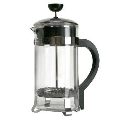 8-Cup Classic Coffee Press Tea Kettle in Chrome