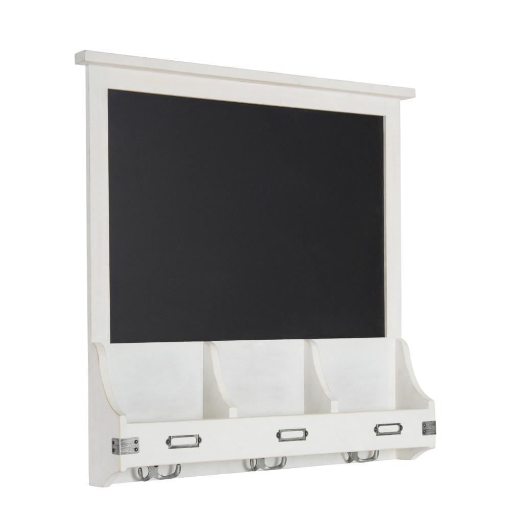 Stallard White Multi Function Chalkboard Memo Board