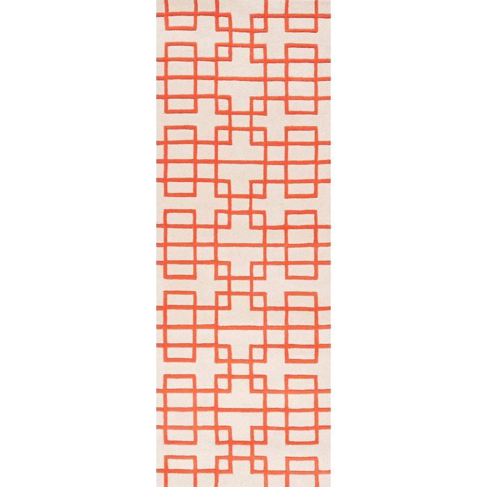 Artistic Weavers Herbert Poppy Red 2 ft. 6 in. x 8 ft. Rug Runner