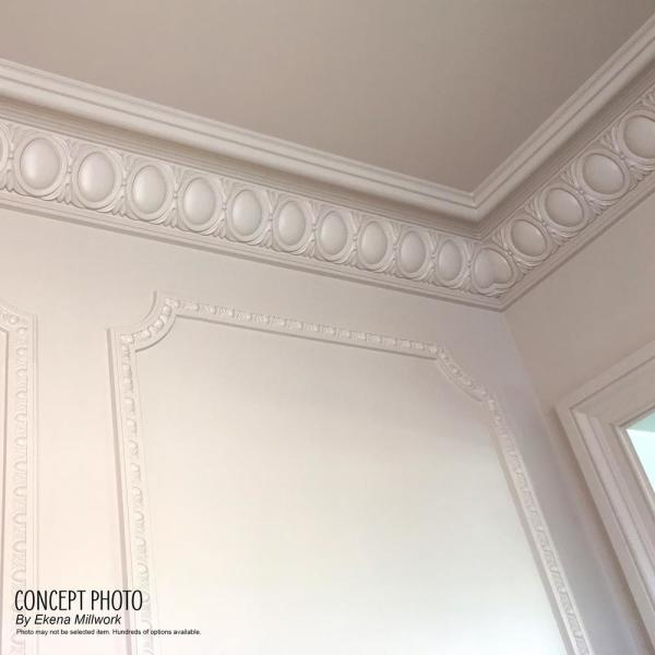 Ekena Millwork 2 In X 2 In X 94 1 2 In Polyurethane Edinburgh Traditional Crown Moulding Mld01x02x02ed The Home Depot