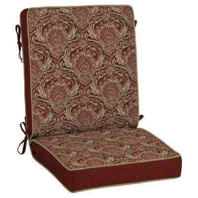 Venice Snap Dry Outdoor Dining Chair Cushion