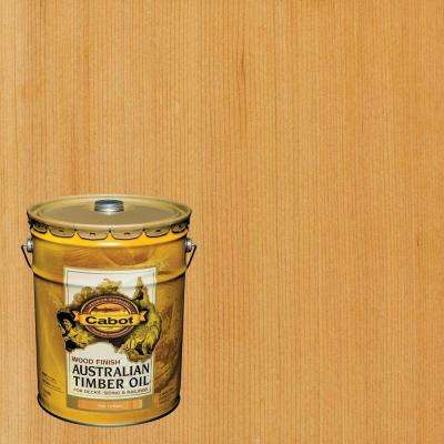 5 gal. Natural Australian Timber Oil Exterior Wood Finish, VOC Compliant
