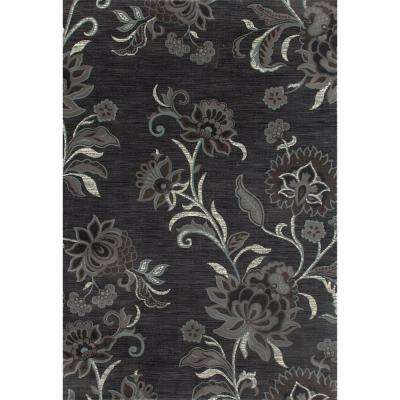 London Elloise Gray 9 ft. 10 in. x 13 ft. 1 in. Area Rug