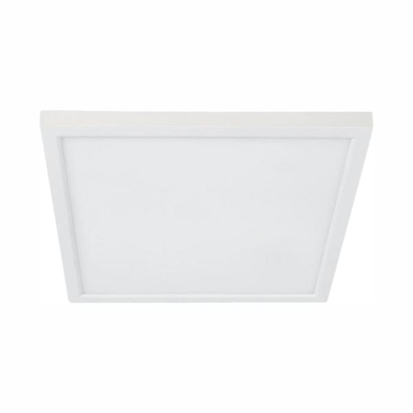 5 or 6 in. J-Box 12W Dimmable White Integrated LED Square Flat Panel Ceiling Flush Mount Light with Color Changing CCT