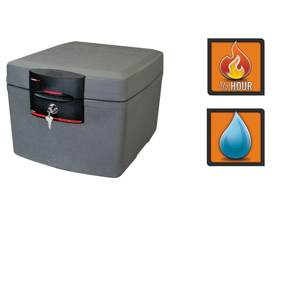 sentrysafe 1 3 cu ft fire safe waterproof security file safe h3100 rh homedepot com Combination Sentry 3100 The Protector Safe D Posit