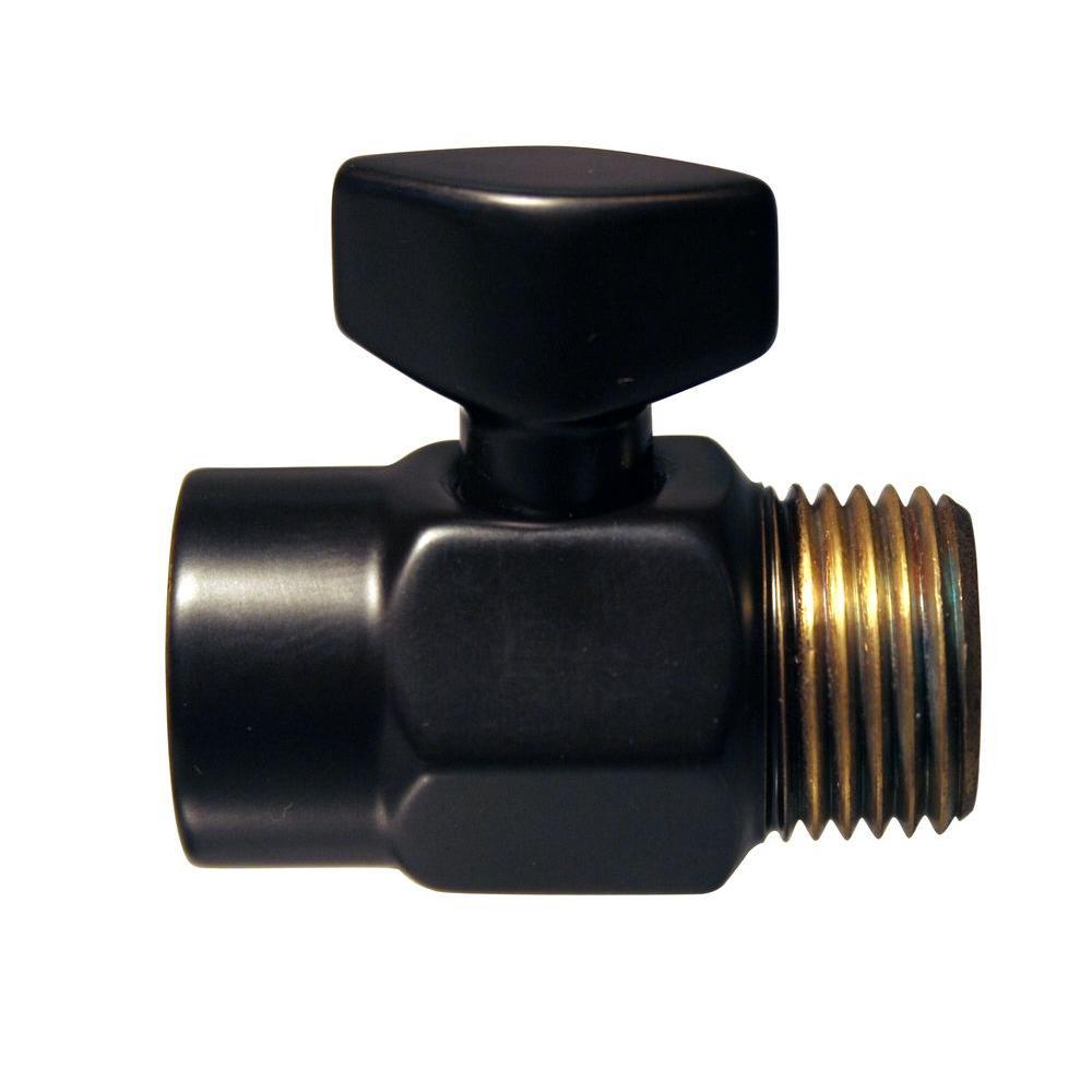 Westbrass 1/2 in. IPS Shower Volume Control in Oil Rubbed Bronze