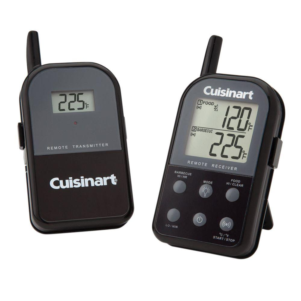 cuisinart dual probe digital wireless thermometer csg 900. Black Bedroom Furniture Sets. Home Design Ideas