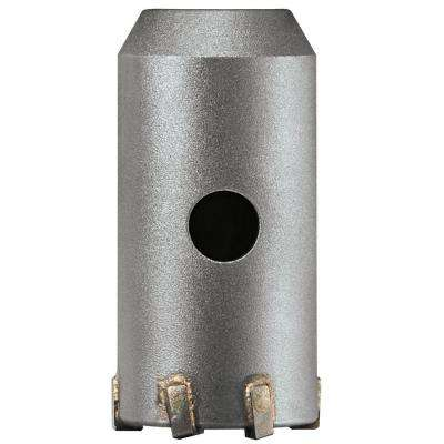 1-9/16 in. Carbide SDS-Plus SPEEDCORE Thin-Wall Core Bit for Removal of Masonry Brick and Block