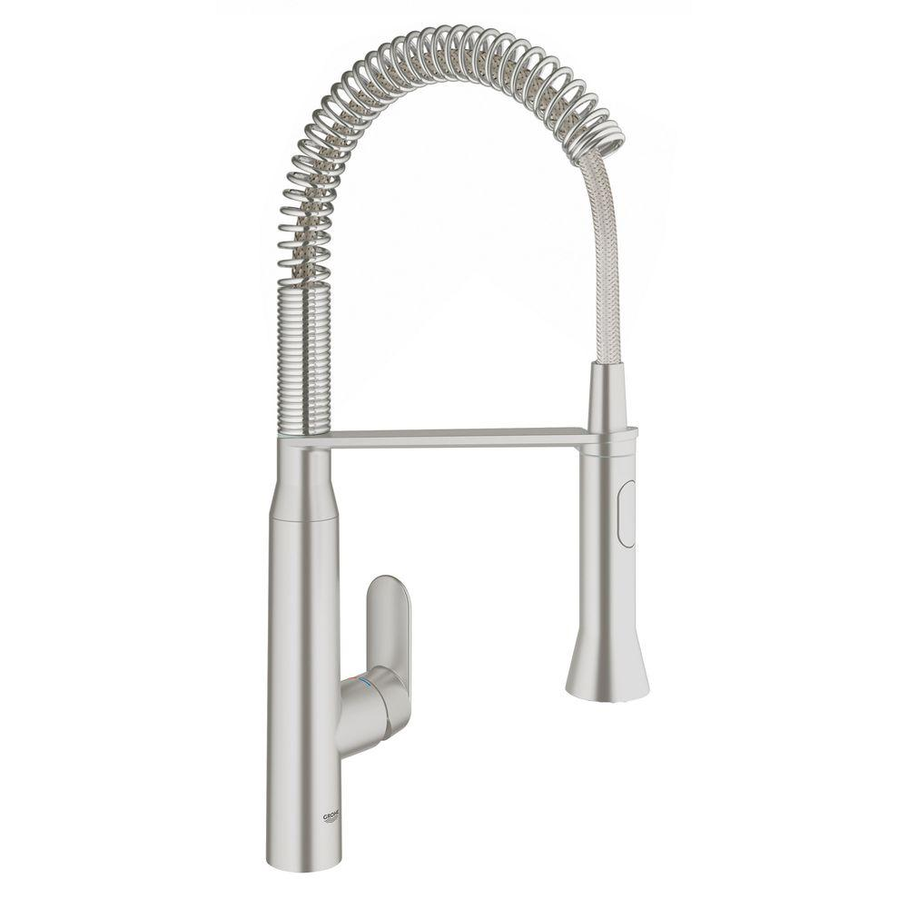Minta Single Handle Pull Down Kitchen Faucet