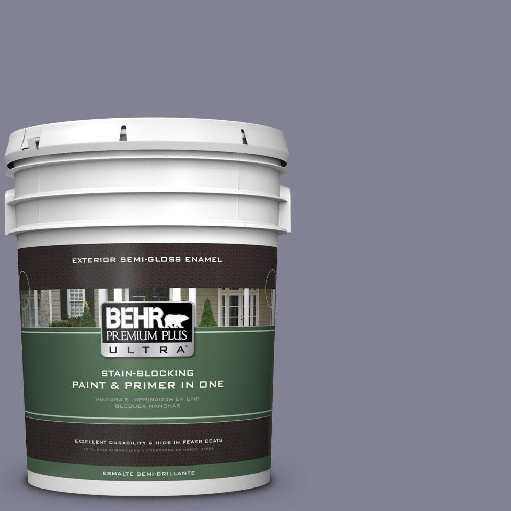 5-gal. #BNC-19 Formal Affair Semi-Gloss Enamel Exterior Paint