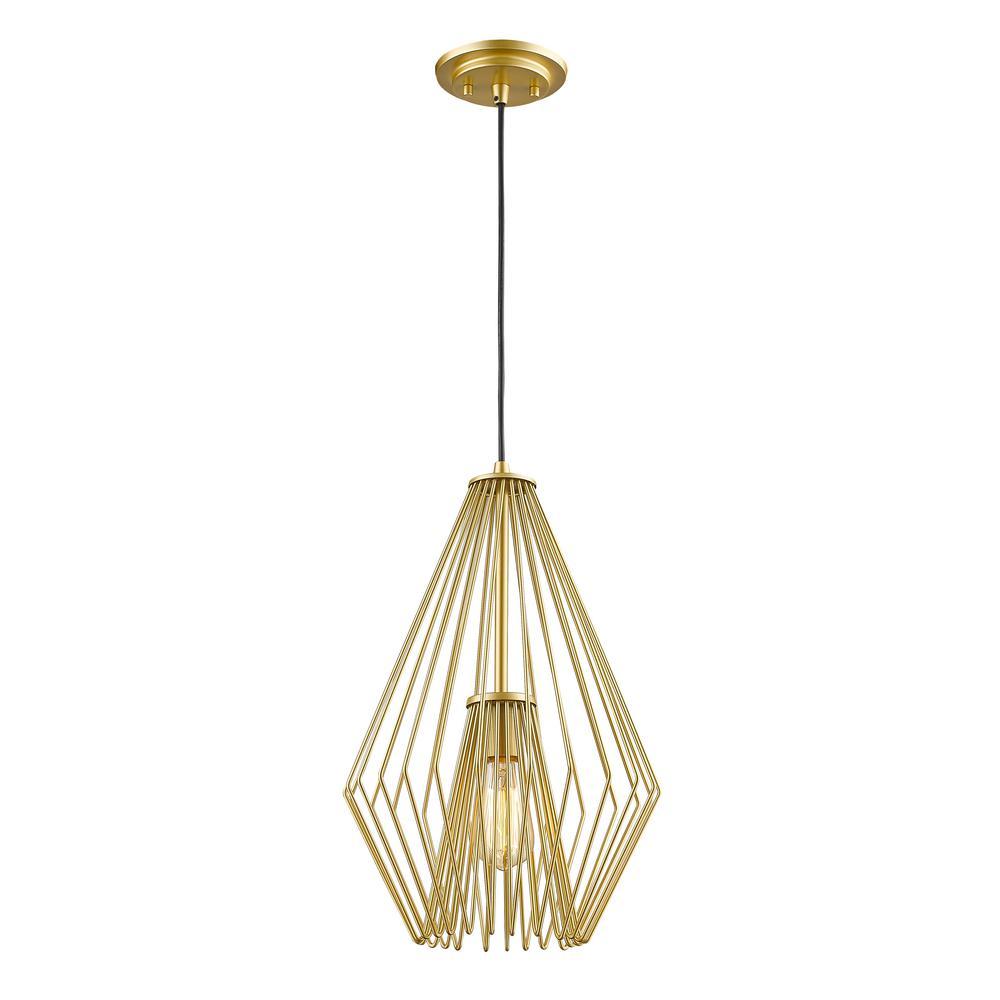Gold Bronze Mid Century Modern Pendant Lights Lighting The