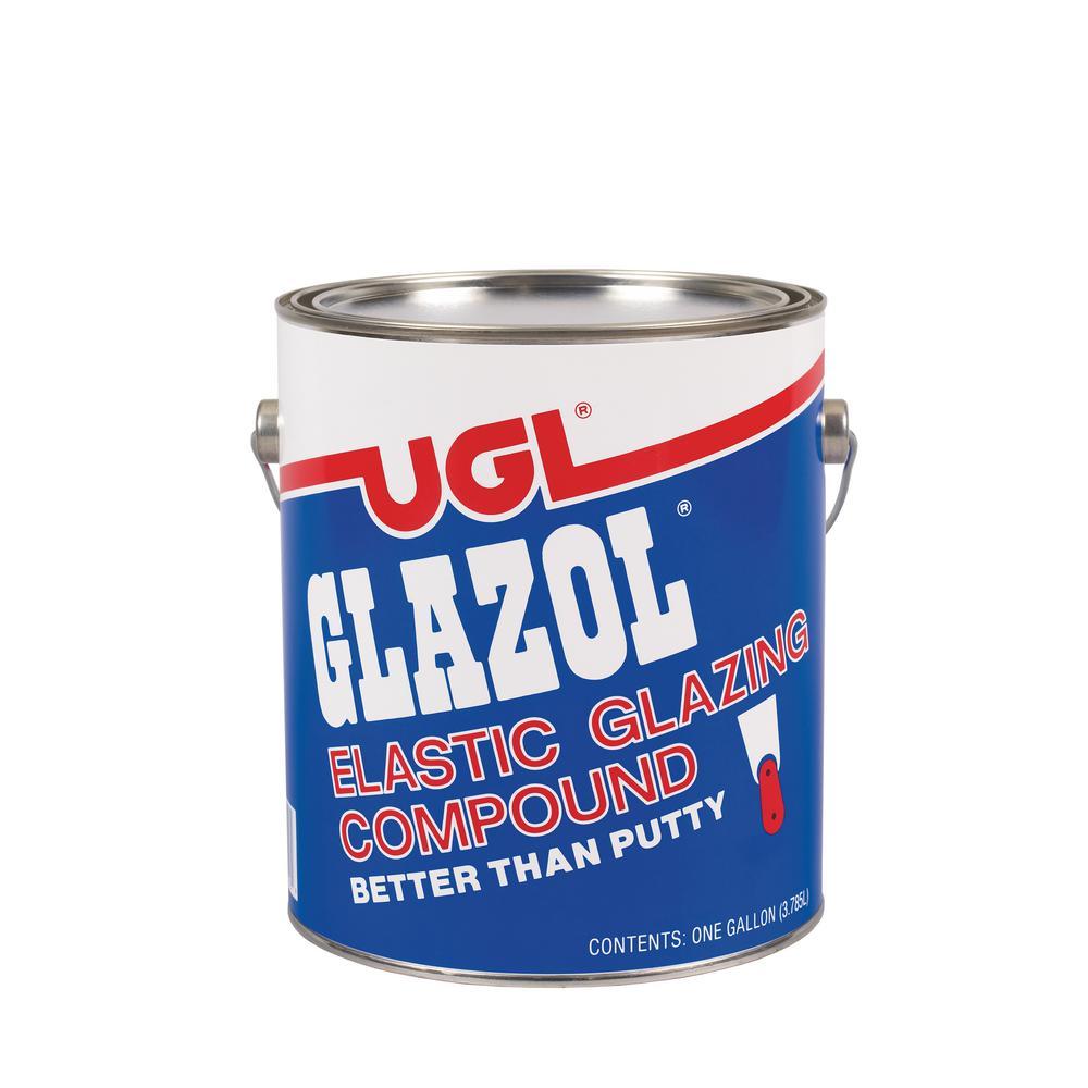 UGL 1 gal. Glazol Glazing Compound