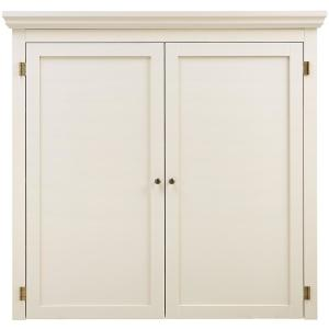 Home Decorators Collection Prescott Polar White Modular Open Top with Wine Rack by Home Decorators Collection