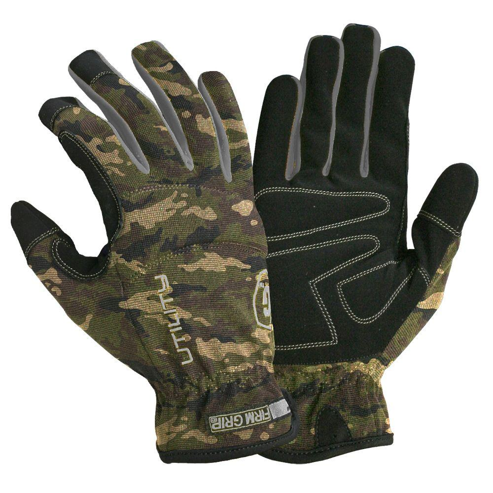 Firm Grip (3-Pair) High Performance Camoflauge Glove
