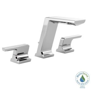 Delta Pivotal 8 inch Widespread 2-Handle Bathroom Faucet with Metal Drain... by Delta