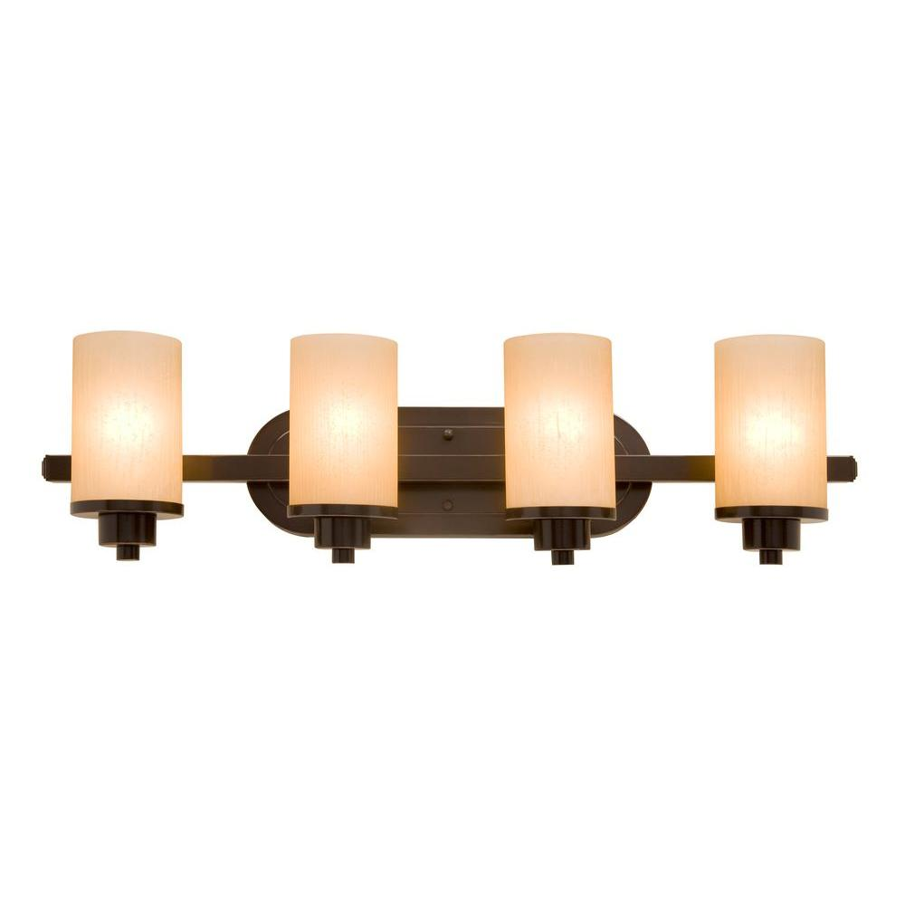 Artcraft Parkdale 4 Light Oil Rubbed Bronze Bath
