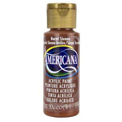 Americana 2 oz. Burnt Sienna Acrylic Paint
