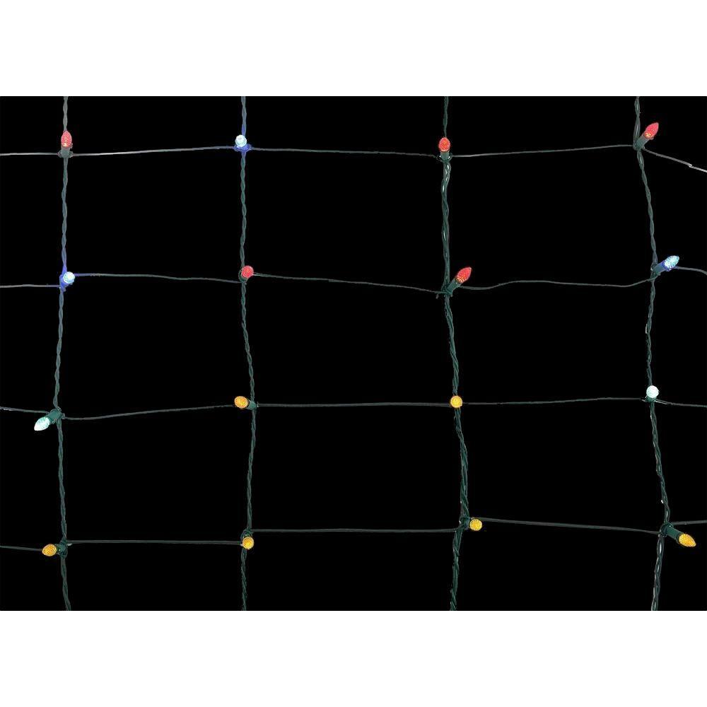 6 ft. 150-Light LED Multi-Color Net Light
