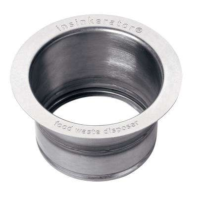 Extended Sink Flange in Stainless Steel for InSinkErator Garbage Disposals