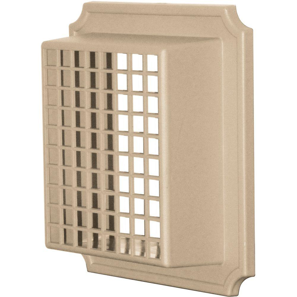 Builders Edge Exhaust Vent Small Animal Guard #069-Tan