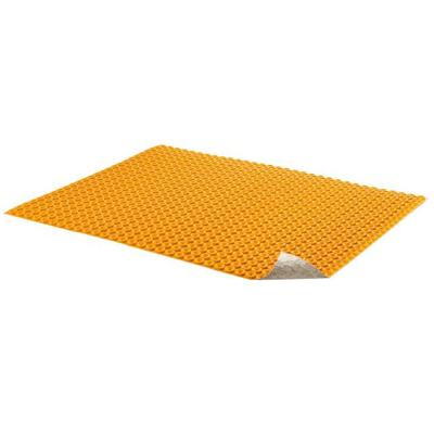 Schluter Ditra Heat 3 Ft 3 In X 2 Ft 7 In Uncoupling Membrane Sheet Dh5ma The Home Depot
