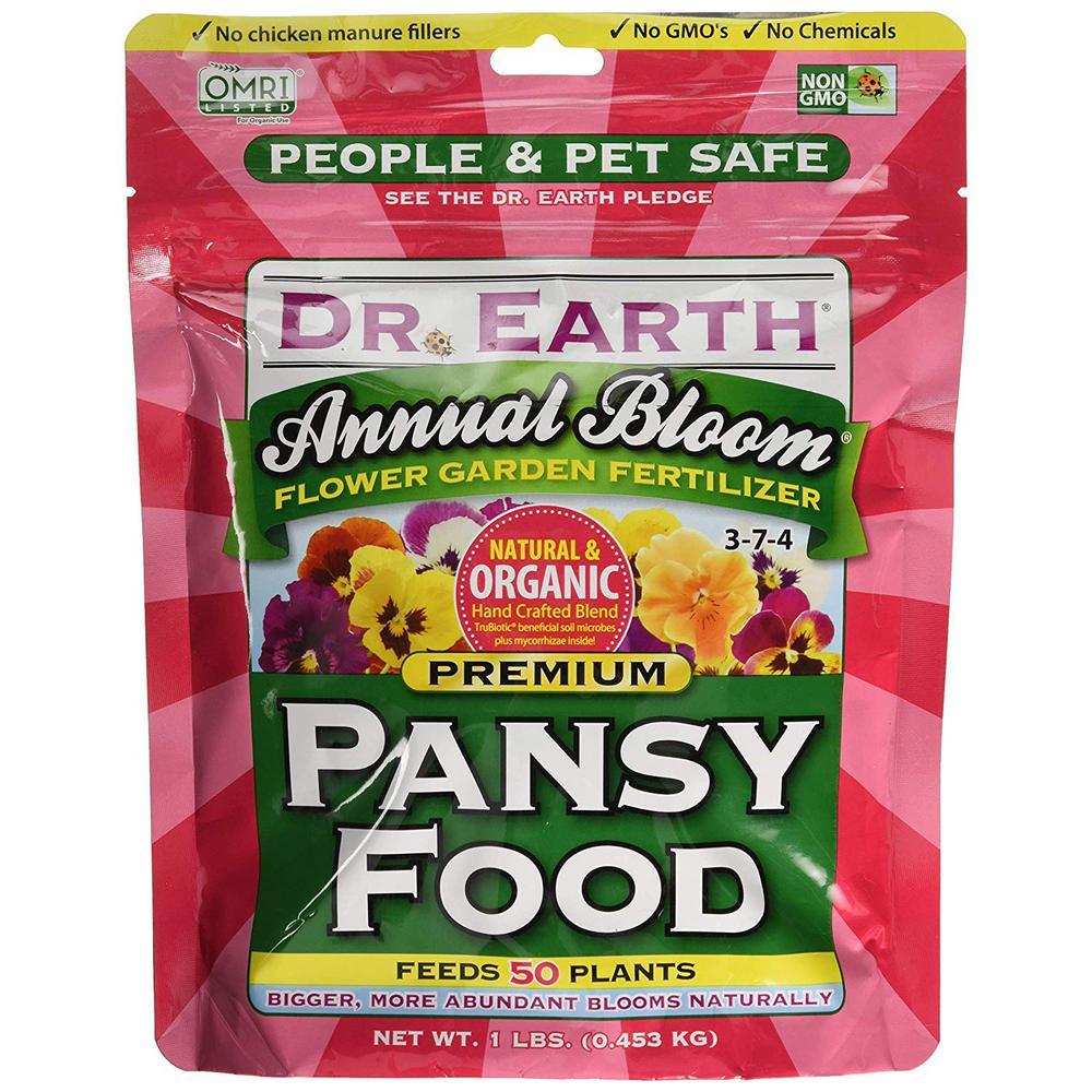 1 lb. Annual Bloom Premium Pansy Food 3-7-4