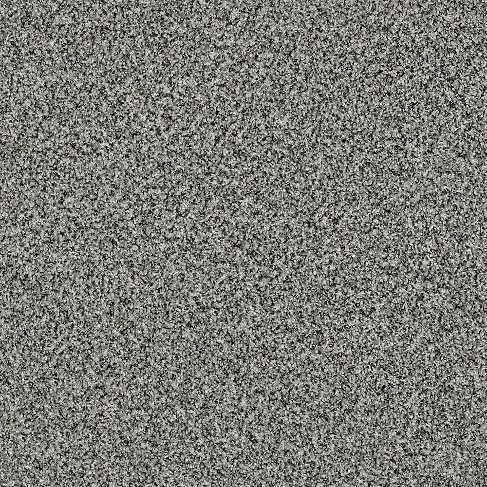 Shaw Carpet Sample Bonanza I Color Ash Fog Twist 8 In