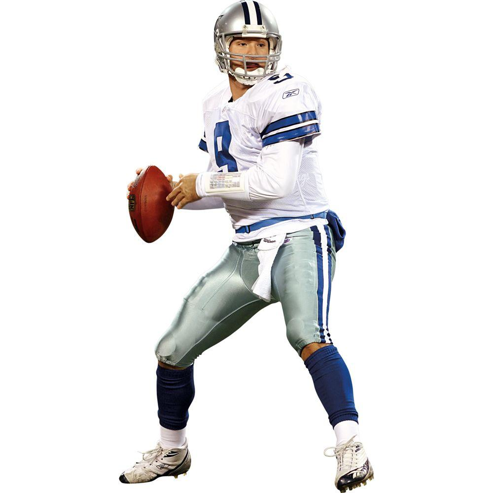 Fathead 36 in. x 79 in. Tony Romo Dallas Cowboys Wall Decal