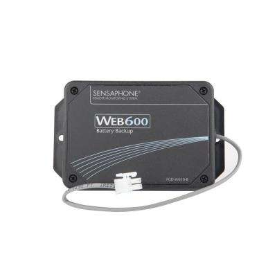 Battery Backup for Web600
