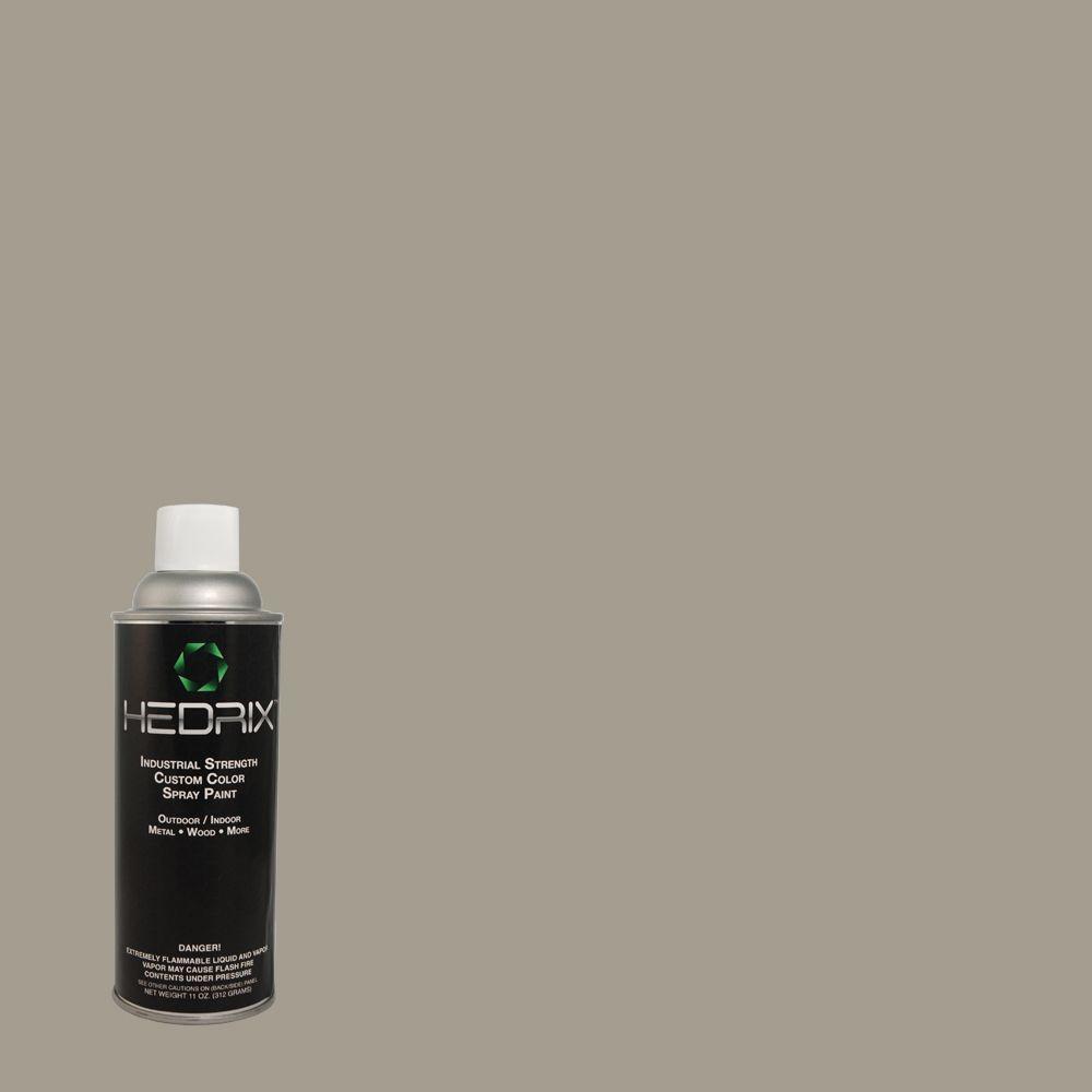 Hedrix 11 oz. Match of Ashwood 720D-4 Gloss Custom Spray Paint (2-Pack)