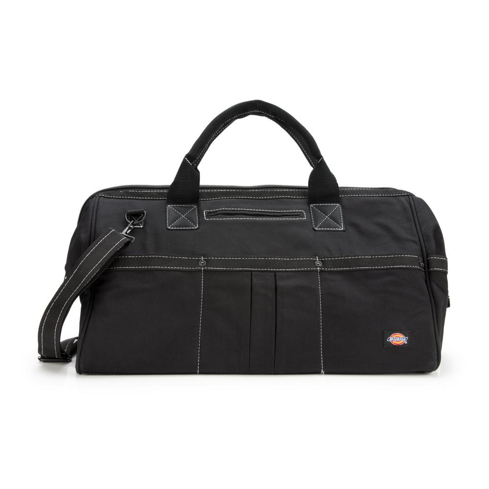 20 in. Soft Sided Construction Work Tool Bag in Black