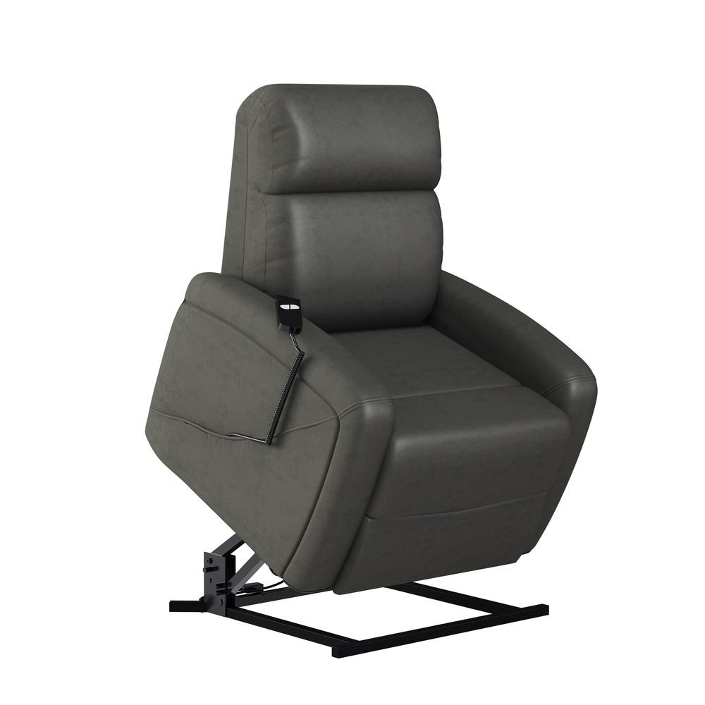 Serta Northwood Polo Club Power Recliner Lift Chair in Grey