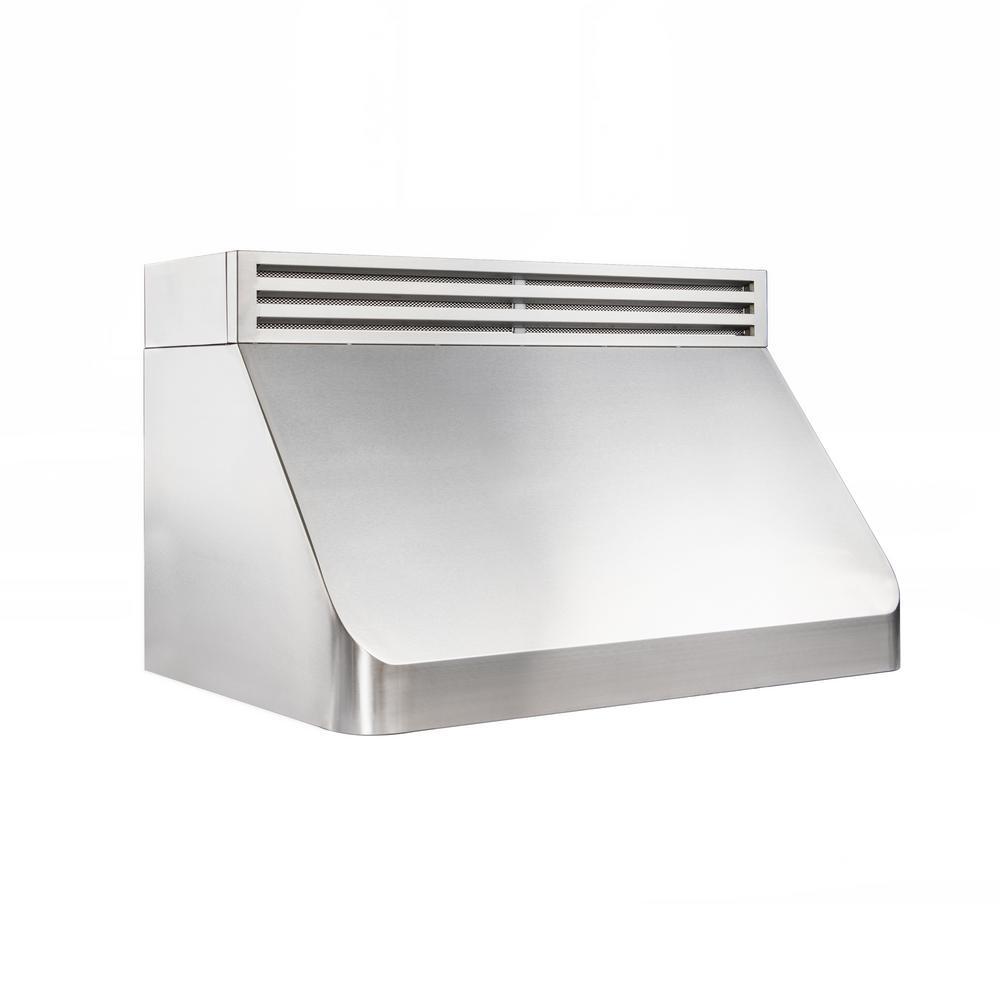 36 in  1000 CFM Recirculating Under Cabinet Range Hood in Stainless Steel